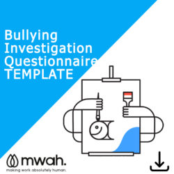Bullying Investigation Questionnaire Template