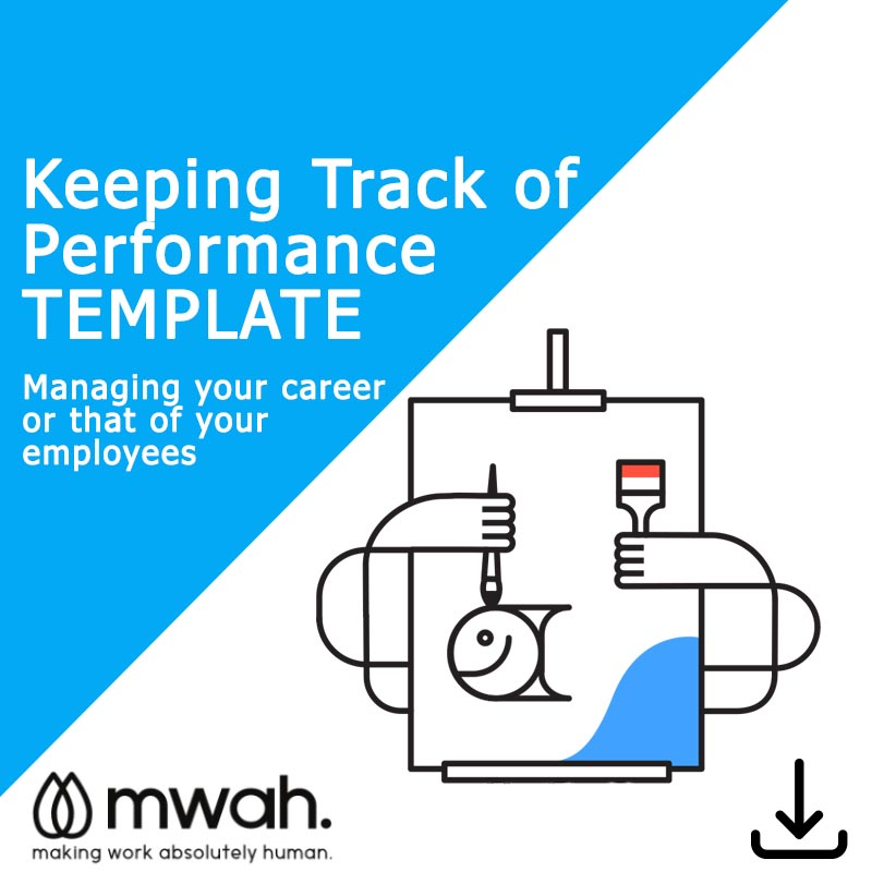 Keeping Track of Performance Template