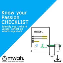 Know you passion checklist