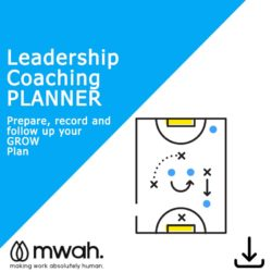 Leadership Coaching Planner