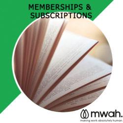 1. Membership & Subscriptions