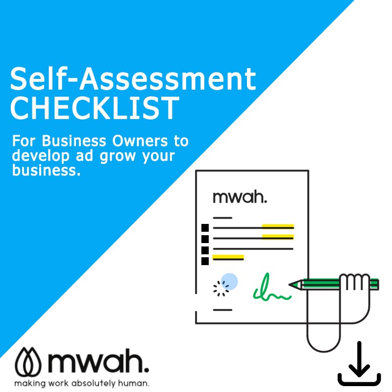 Self Assessment Checklist for Business Owners