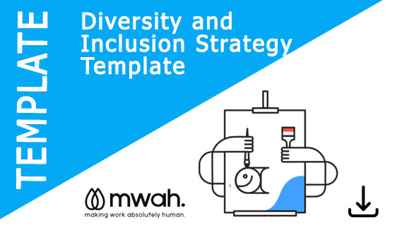 Diversity Inclusion Strategy Template Mwah Sample D I